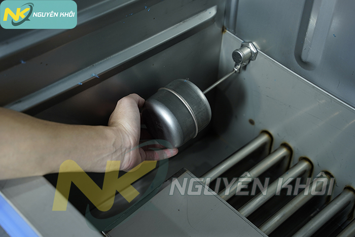 Phao cơ tủ cơm công nghiệp cấp và ngắt nước tự động