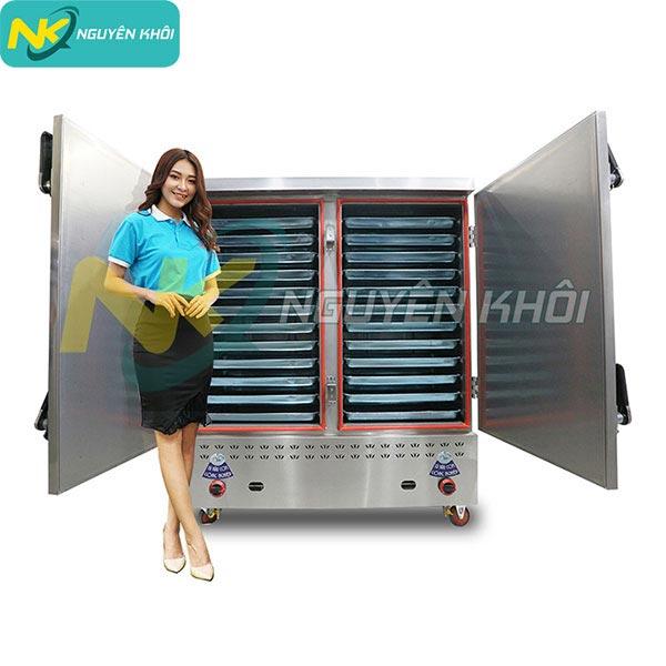Một số lưu ý trong quá trình sử dụng tủ nấu cơm công nghiệp
