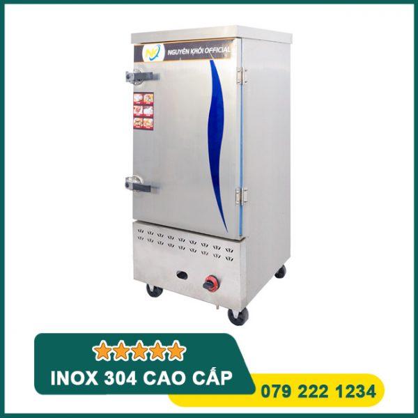 Tủ cơm công nghiệp 10 khay điện gas