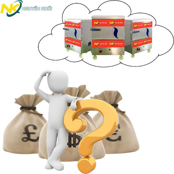 Tủ hấp cơm công nghiệp giá bao nhiêu?
