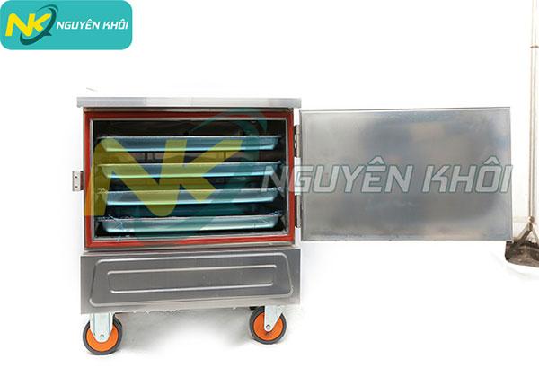 Tủ nấu cơm 4 khay mini điện