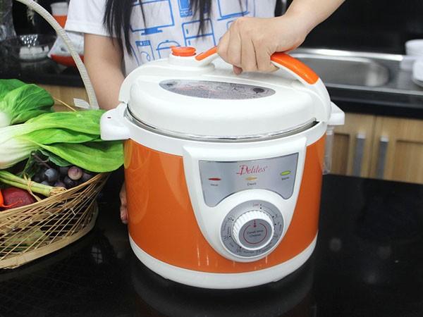 Hướng dẫn cách sử dụng nồi áp suất nấu cơm