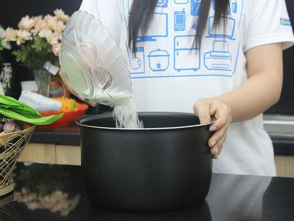 Hướng dẫn quy trình nấu cơm