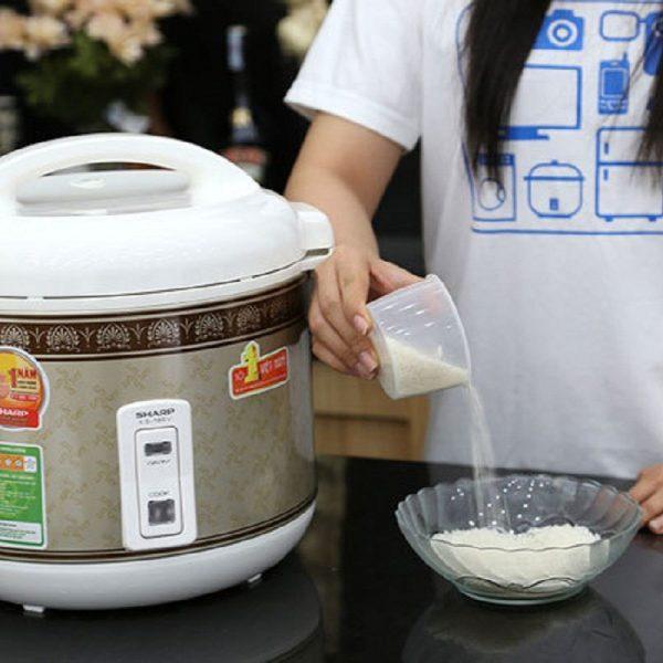Cách bước nấu cơm bằng nồi cơm điện gia đình