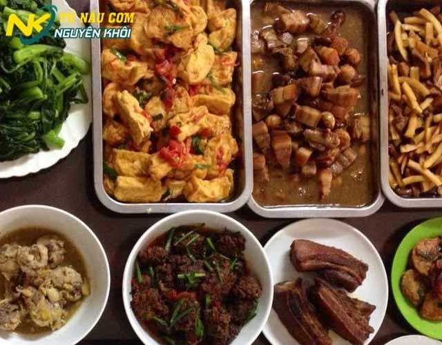 Thực đơn các món ăn phổ biến