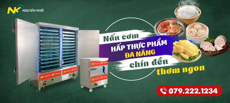 Banner tủ nấu cơm công nghiệp nguyên khôi mới