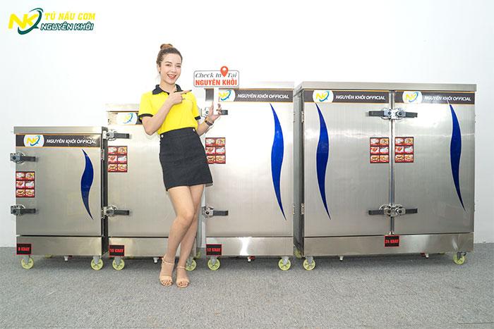 Nguyên Khôi - địa chỉ mua tủ cơm công nghiệp uy tín giá rẻ số 1 Việt Nam