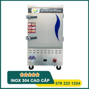 Tủ nấu cơm công nghiệp 8 khay gas điện
