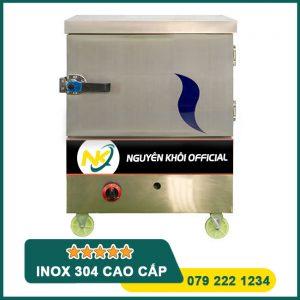 Tủ nấu cơm công nghiệp 4 khay điện + gas